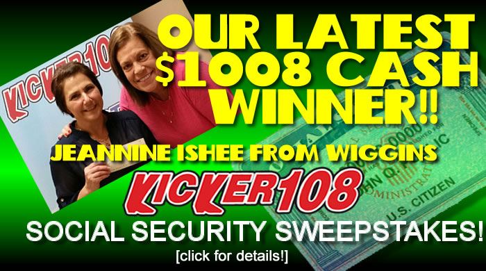 Enter Soc Sec Sweepstakes