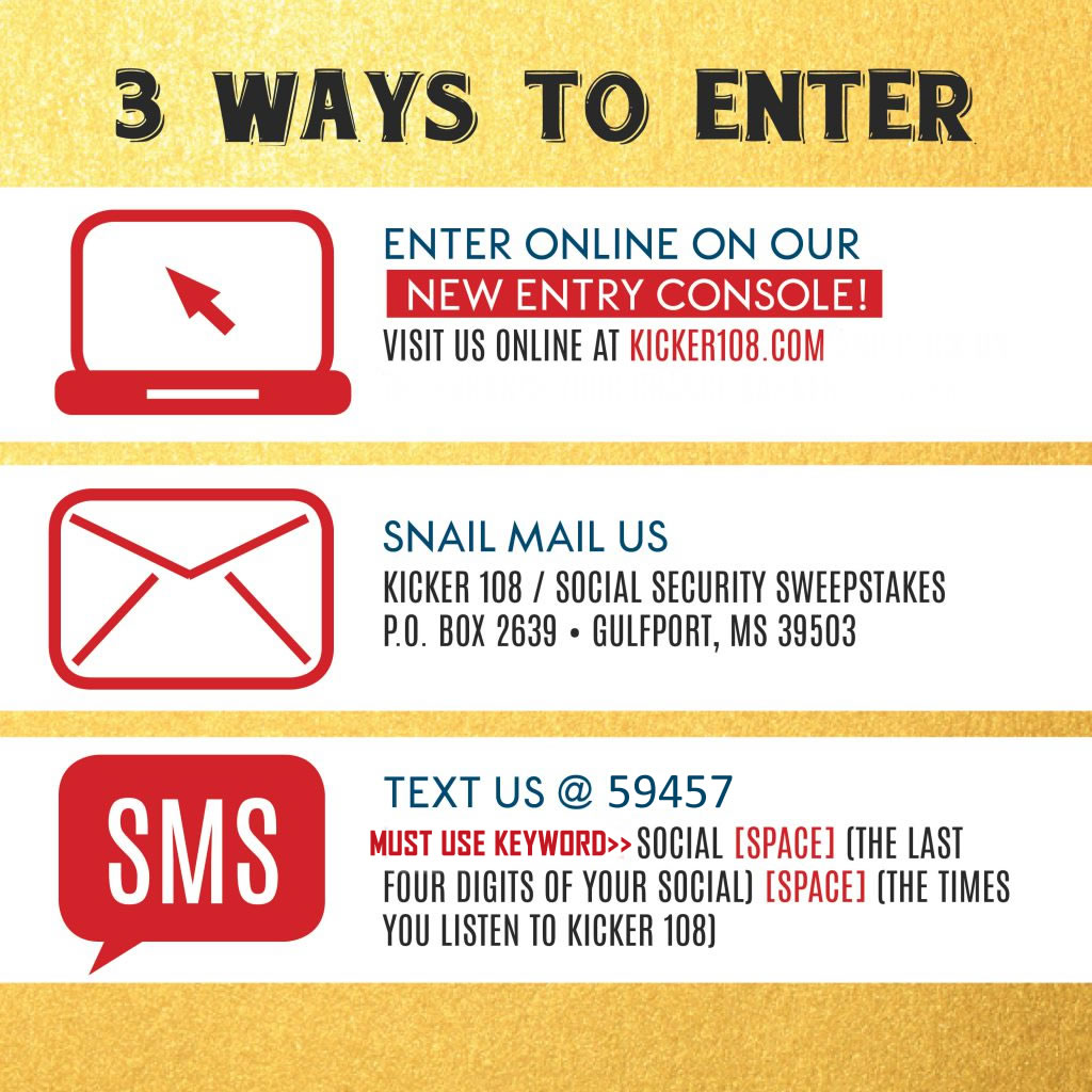 3 Ways to Enter the Social Security Sweepstakes