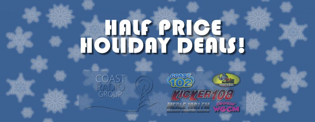 Half Price Holiday Deals
